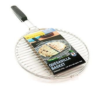 Steven Raichlenâ S Best Of Barbecue Steven Raichlen†s Best of Barbecue Grill Tools Stainless Quesadilla Basket SR8167