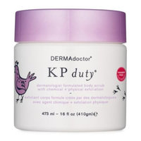 babyliss beauty DERMAdoctor KP Duty Dermatologist Formulated Body Scrub with Chemical + Physical Exfoliation, 16oz.