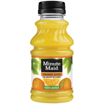 Minute Maid Juices to Go Orange 100% Juice 10 Fl Oz