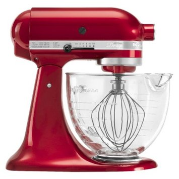 KitchenAid Artisan Designer Series Stand Mixer w/Glass 5-Quart Bowl -