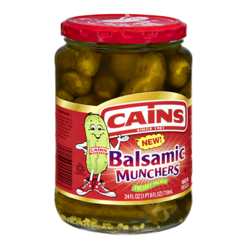 Cains Balasamic Munchers Pickles