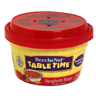 Beech-Nut Spaghetti Rings Mini Meals, 6 Ounce Bowl (Pack of 12)