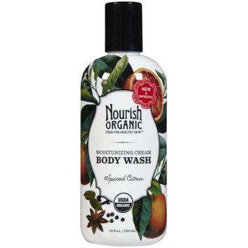 Nourish 1250992 Moisturizing Cream Organic Body Wash Spiced Citrus 10 oz.