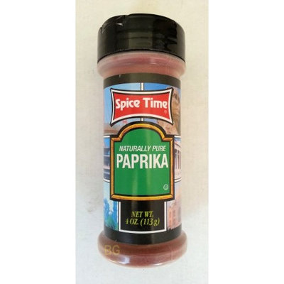 PAPRIKA Seasoning by Spice Time Spices & Herbs 4 oz... mtc