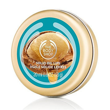 The Body Shop Wild Argan Oil Solid Oil Lips Lip Balm ,0.67 ounce