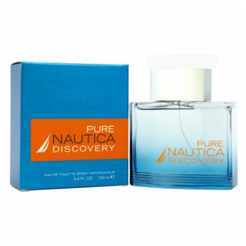 Men's Nautica Pure Discovery by Nautica Eau de Toilette Spray - 3.4 oz