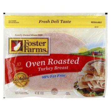 Foster Farms Oven Roasted Turkey Breast 10 oz