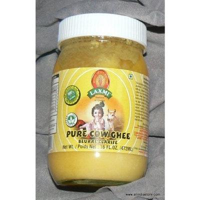 Laxmi Pure Cow Ghee Natural No MSG 16 fl Oz