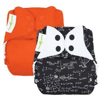 Bum Genius bumGenius Freetime Reusable Diapers - Boy Multicolored (2 Pack)