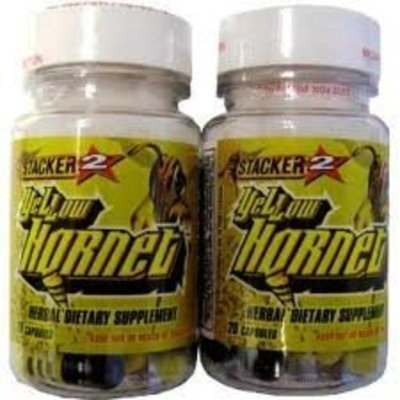 STACKER 2 YELLOW HORNET (2) 20CT. BOTTLES
