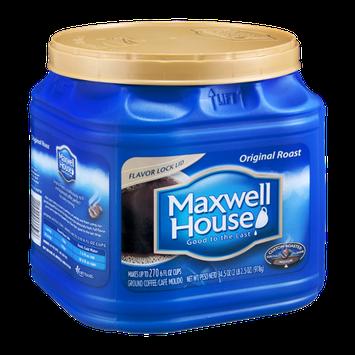 Maxwell House Ground Coffee Medium Original Roast