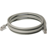 Axis 308-507 CAT-5E UTP Patch Cord, Gray (7 ft)