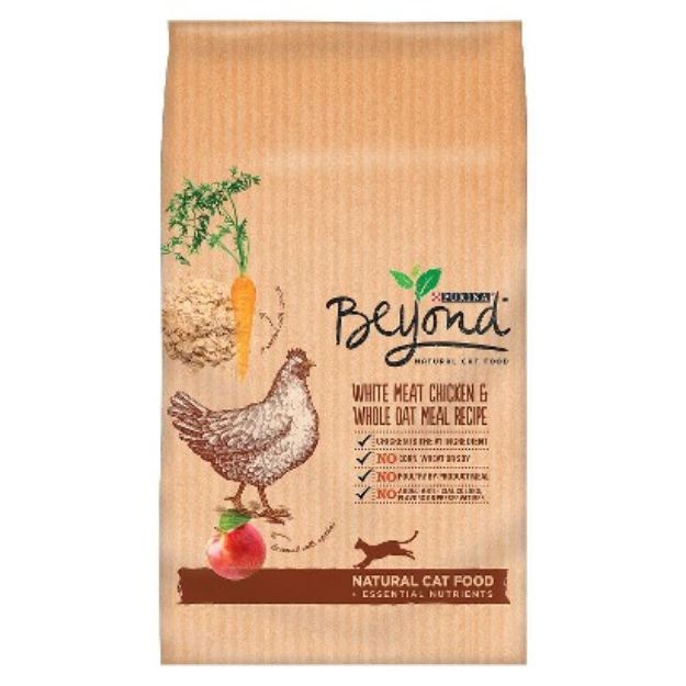 Purina Beyond Natural Cat Food - White Meat Chicken and Whole Oat