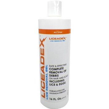 All Stop Liceadex Lice & Nit Home Removal - Non-Toxic Lice Treatment Gel - 16oz