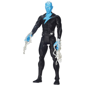 Marvel Entertainment Group Marvel Comics Ultimate Spider Man Titan Hero Series Electro Figure - HASBRO, INC.