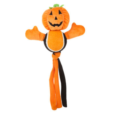 Grreat ChoiceA Pumpkin Tennis Belly Dog Toy