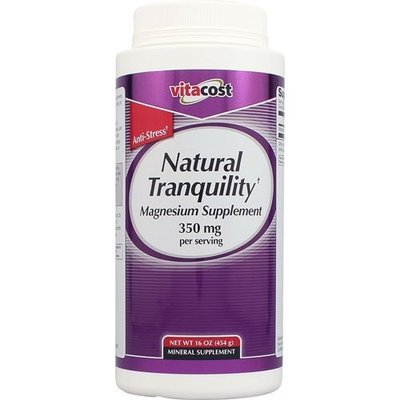 Nutraceutical Sciences Institute  NSI Vitacost Natural Tranquility Magnesium Supplement -- 350 mg per serving - 16 oz (454 g)
