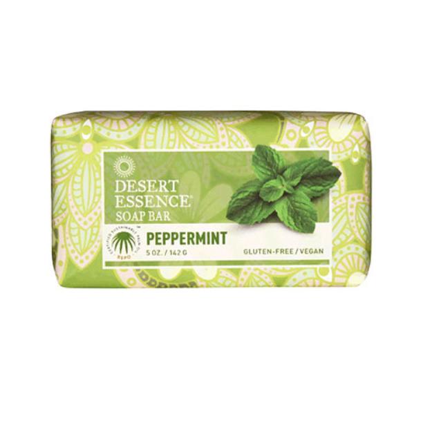 Desert Essence Soap Bar Peppermint