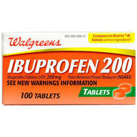 Walgreens Ibuprofen 200 mg Tablets