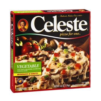 Celeste Pizza For One Vegetable