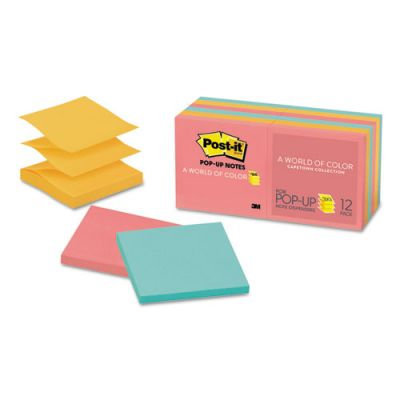 3M Post-it Pop-Up Neon Colors Refill Notes