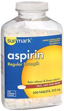 Sunmark Aspirin, 325 mg, 500 tabs by Sunmark