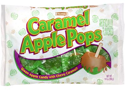 Tootsie Caramel Apple Pops
