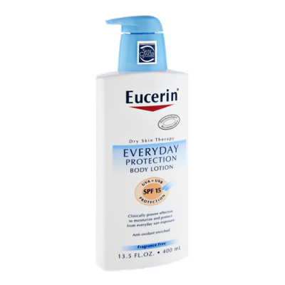 Eucerin Dry Skin Therapy SPF 15 Everyday Protection Body Lotion