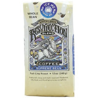 Raven's Brew Whole Bean Resurrection Blend,Full City Roast 12-Ounce Bags (Pack of 2)