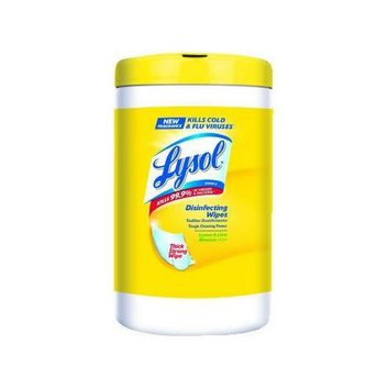 Lysol Brand LYSOL Disinfecting Wipes Citrus Scent