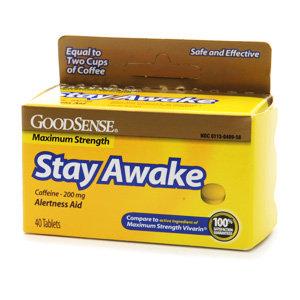 Good Sense Maximum Strength Stay Awake Caffeine Tablets