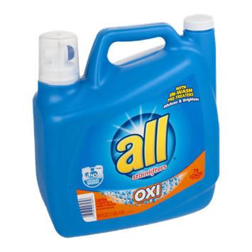All with Stainlifters Detergent Oxi