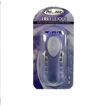 Personna Tri-Flexxx For Women Razor Handle +cream ( 1xpc)