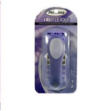 Personna Tri-Flexxx For Women Razor Handle +cream ( 1xpc)