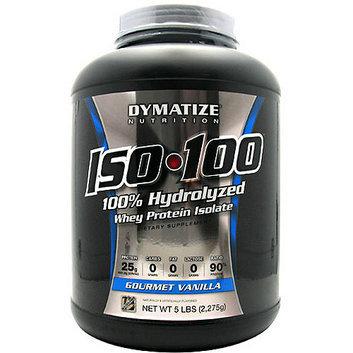 Dymatize Iso-100 100% Hydrolyzed Gourmet Vanilla Whey Protein Isolate