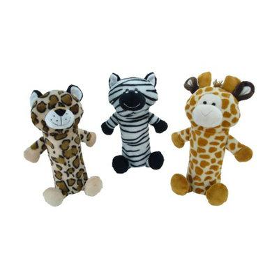 Animal Adventure Boots & Barkley Dog Toy Bottle Crunchers