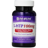MRM 5 HTP Capsules, 100 mg, 30 Count Bottle