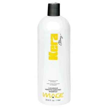 Image Kera Clenz, Luxurious Keratin Enriched Shampoo, 33.8 fl oz (1 lt) (Pack of 2)