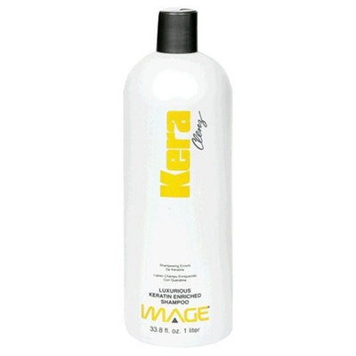 Image Kera Clenz, Luxurious Keratin Enriched Shampoo, 33.8 fl oz (1 lt) (Pack of 2)