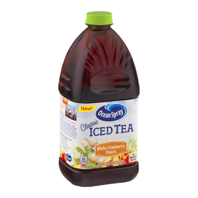 Ocean Spray Classic Iced Tea White Cranberry Peach