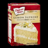 Duncan Hines Signature Cake Mix Lemon Supreme