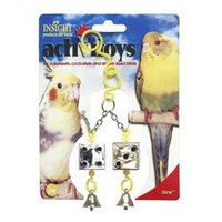 JW Pet Company Activitoys Dice Bird Toy