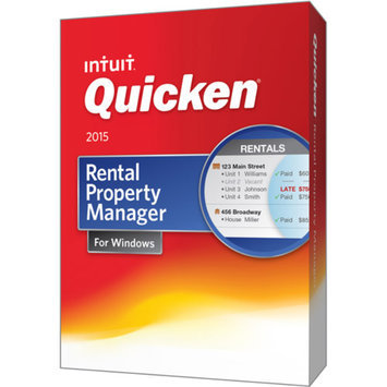 Intuit Quicken 2015 Rental Property Manager (PC)