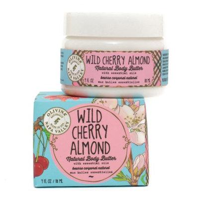 Olivina Natural Body Butter, Wild Cherry Almond, 4 fl oz