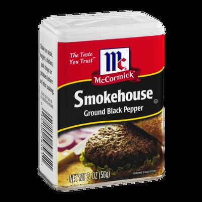 McCormick Smokehouse Ground Black Pepper