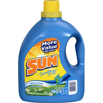 Sun 2X Ultra Clean & Fresh Laundry Detergent With sational Scents