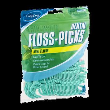 CareOne Dental Floss-Picks Mint Flavor - 90 CT