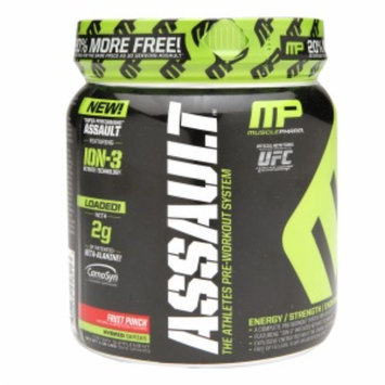 Musclepharm MusclePharm(r) Assault(tm) - Fruit Punch - 20% MORE FREE