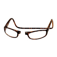 CliC Euro Adjustable Front Magnetic Connect Reading Glasses