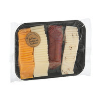 Bella Rosa Selection Cheese & Meat Cracker Cut Tray
